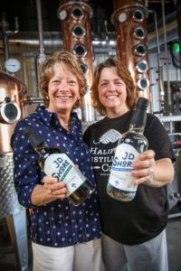 Arla and Julie welcome you to the Halifax Distilling Co.