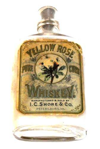 I.C. Shore Yellow Rose Whiskey