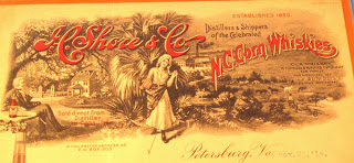 I.C. Shore Whisky Advertisement