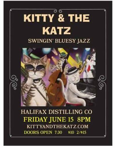 Kitty and the Katz Bluesy Jazz Event Friday June 15, 2018